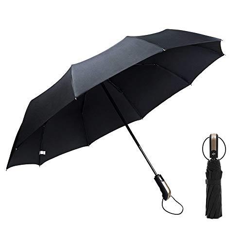 GogoTool Paraguas Plegable 118cm 10 Ribs 210T Nano