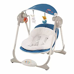 Chicco 6067691050000 altalena polly swing blu amazon for Altalena amazon