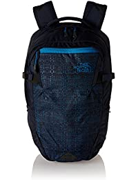North Face Iron Peak - Mochila unisex, color azul marino, talla única