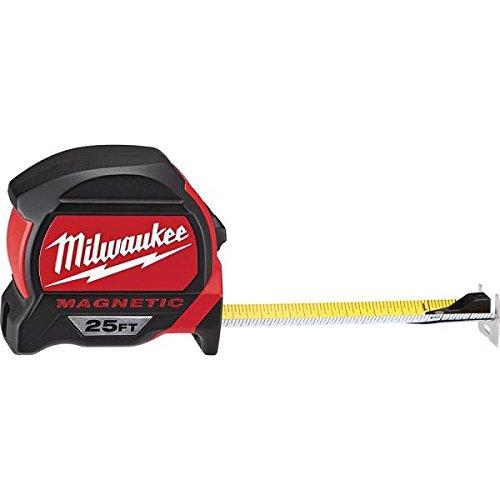 Milwaukee 48-22-7125G-2-7,6 m Premium Magnet-Bandmaß, 2 Stück -