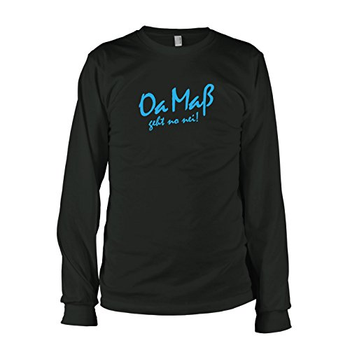 TEXLAB - Oa Maß - Langarm T-Shirt Schwarz