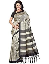 Rani Saahiba Art Mysore Silk Printed Saree (SKR4318_Beige)