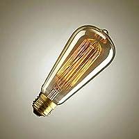 Sister-A ST64 Filament Ampoule Vintage edison Lamp Incandescent Light Bulb 40W