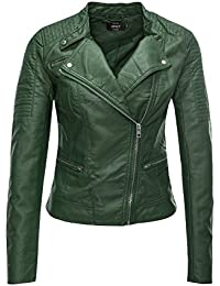 Only Onlready Faux Leather Biker Cc Otw, Chaqueta para Mujer