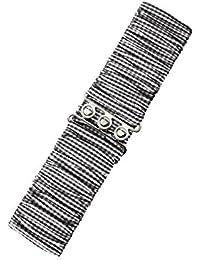 Vintage Bond Rosa Banned Vintage Rockabilly Stretch Gürtel Taillengürtel