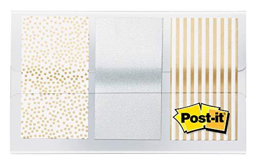 Post-it Flaggen aus Metall, 1,9 x 4,8 cm, 60 Flaggen pro Spender (682-Metall)