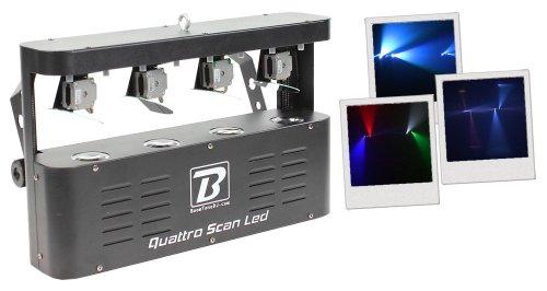 BoomToneDJ Quattro Scan LED-Lichtspiel -