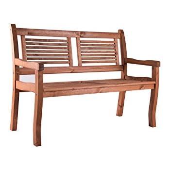 Amazon.De: 2 Sitzer Gartenbank Holz Massiv Siena Von Bomi