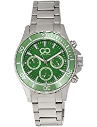 Gio Collection Analog Green Dial Men's Watch - GAD0041-C