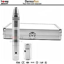 Derma Pen inalámbrico ajustable de 0,25 a 2,5 mm. para cuidado