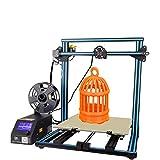 Aggiornamento Creality Stampante 3D CR-10 S5 e Monitorare Con Doppia Z Piombo Viti Curriculum Stampa Quando La Corrente 500x500x500mm (Blu)