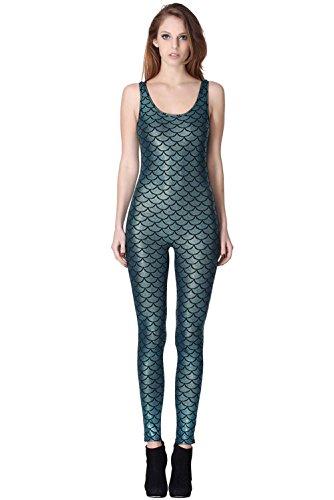 lotus-instyle-jumpsuit-bodysuit-fur-damen-fischschuppen-druck-gr-einheitsgrosse-grun