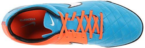 Nike - Tiempo Legacy TF, Scarpe da calcio da uomo Blau (NEO TURQ/WHITE-HYPR CRMSN-BLK 418)