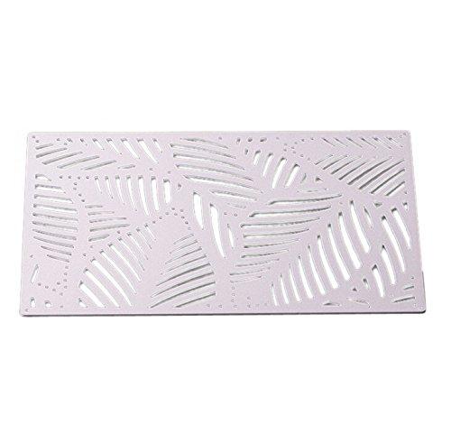SULIFOR stanzschablonen Metall Stanzformen Schablone Für DIY Scrapbooking Album Papier Karte Dekor Handwerk(F)