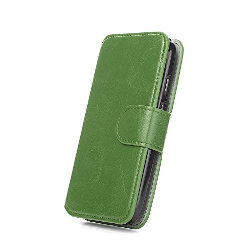 Gemischt S2 T989, Retro Wallet - Grass Green