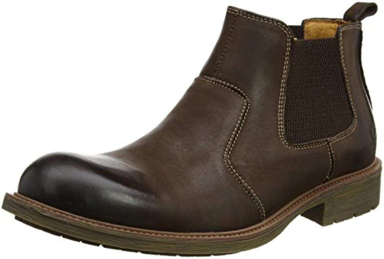 Chatham Herren Logan Chelsea Boots  SchwarzChatham Logan Herren Combat Dunkelbraun Billig und erschwinglich Im Verkauf