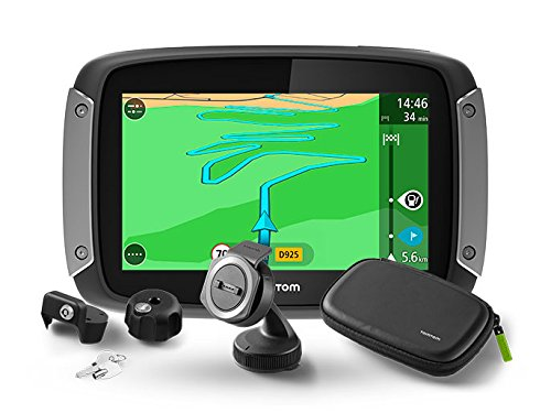 TomTom Rider 410 Premium Pack Great Rides Edition - Navegador GPS (Flash,...