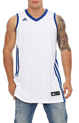 adidas E Kit JSY Basketball Trikot Climacool Herren weiß oder grün S - 4XT