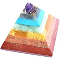 Pyramid - Seven Chakra Gemstone 2-2.5 Inch Chakra Balancing Reiki Healing preisvergleich bei billige-tabletten.eu