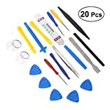 #1: BESTONZON 20Pcs Professional Precision Disassembly Maintenance Phone Repair Tool Set for Repairing Computer Laptop PC Notebook Electronics and More