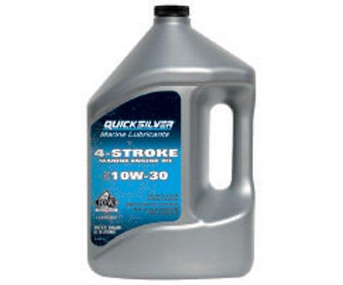 Quicksilver Viertakt-Außenborder-Öl 10W-30 1 Gallone 4 Liter