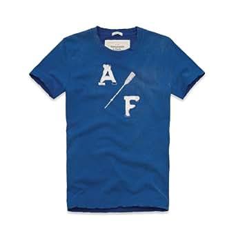 Tee shirt Abercrombie and Fitch Bleu A/F XXL