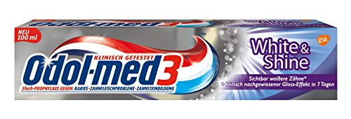 Odol-med 3 white und Shine, 12er Pack (12 x 100 ml)
