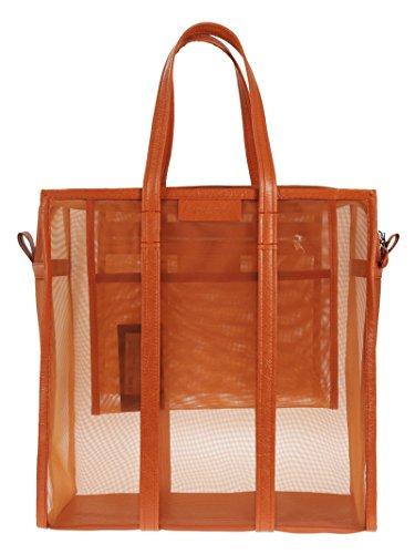 balenciaga-mujer-443097kl5an7510-naranja-cuero-bolso-tipo-shopper