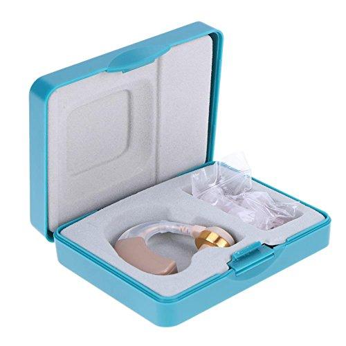 Preisvergleich Produktbild Gerät Cute Ältere Hinter das Ohr Hörverstärker Set mit Box