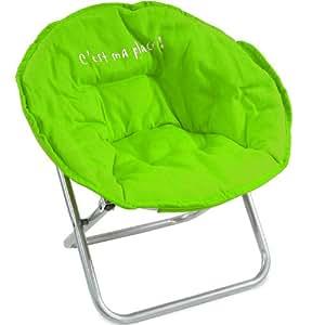 fauteuil enfant pliable confortable et solide vert cuisine maison. Black Bedroom Furniture Sets. Home Design Ideas