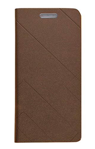 FABUCARE Flip Cover for Motorola Moto One Power Flip Cover Case - Brown