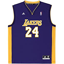 adidas Int Replica JRSY Camiseta de baloncesto NBA Los Angeles Lakers, Hombre, Amarillo, 2XS