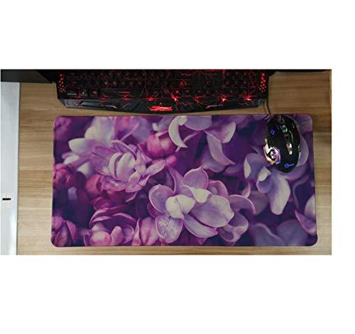 PINXUE Gran Tamaño 30X60 Cm Alfombrillas Ratón Flor