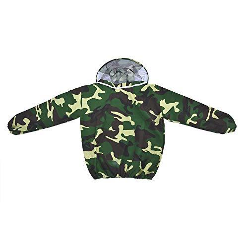 r Imkeranzug mit Rundschleier Imkerei Schutzkleidung Oberbekleidung Mantel Mantel mit Anzugc für Imker (Tarnung) ()