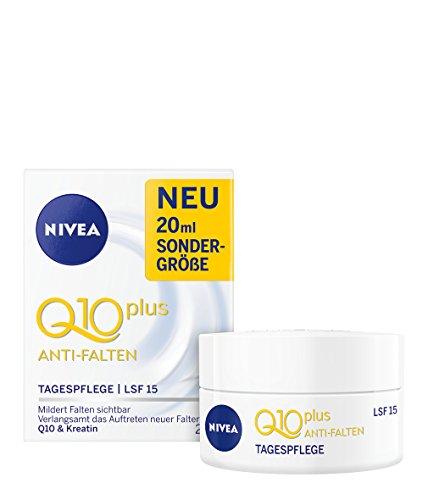 Nivea Q10 Plus Anti-Falten Tagespflege, 3er Pack (3 x 20 ml)