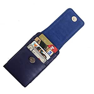 DooDa PU Leather Pouch Case Cover With Magnetic Closure For Videocon A54