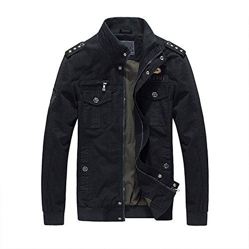 urbanfind-homme-ordinaire-fit-casual-veste-militaire-bombardier-veste-epaulet-epaulette-coton-lgre-v