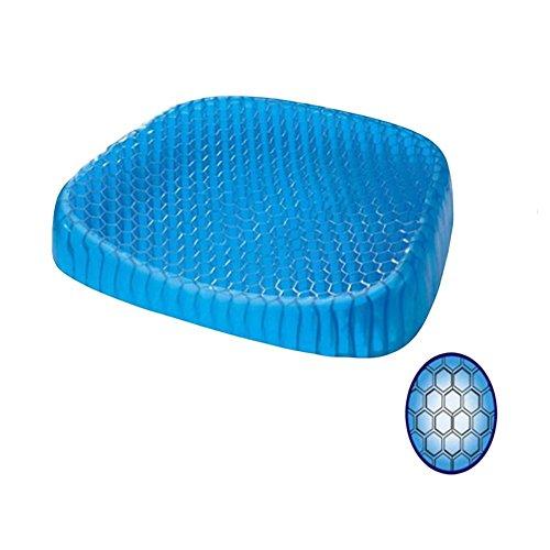 Ei Sitter Sitzkissen, atmungsaktiv Multifunktional Gel Stuhl Pad? Design by Honeycomb absorbiert Druck Punkte. (Komfort-gel-nasen-kissen)
