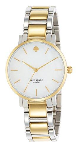 Kate Spade Reloj analogico para Mujer de Cuarzo con Correa en Acero Inoxidable 1YRU0005