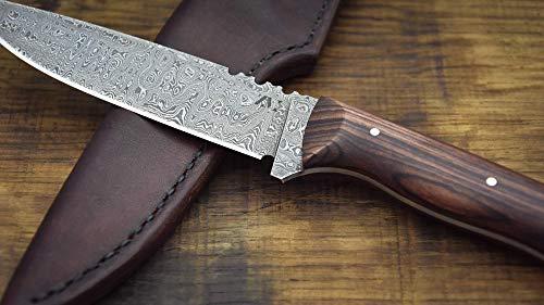 ZM-Messer, Messer, Outdoormesser, Jagdmesser, Damastmesser
