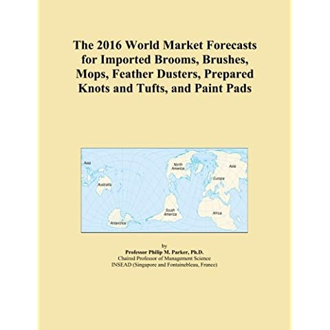The 2016 World Market Forecasts for Imported Brooms, Brushes, Mops, Feather Dusters, Prepared Knots and Tufts, and Paint Pads