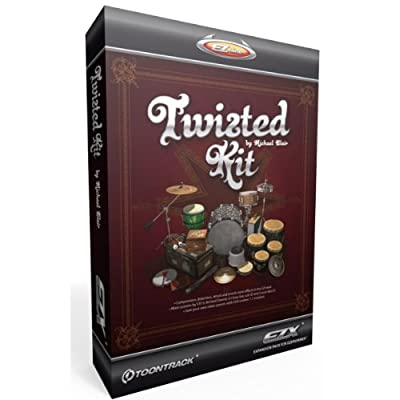 EZX Twisted Kit Expansion for EZ Drummer /DVD