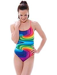 Zoggs Caleidoscopio Star Bañador de niña, mujer, color multicolor, tamaño 38