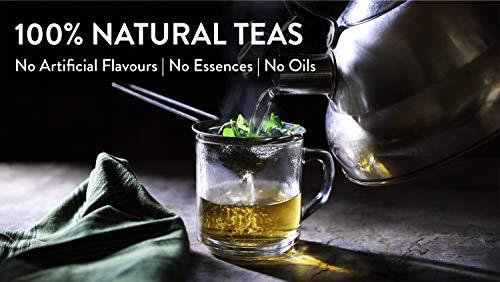 Teamonk Lemongrass Green Tea, Long Leaf 10 Tea Bags, 20gms(10U*2g)