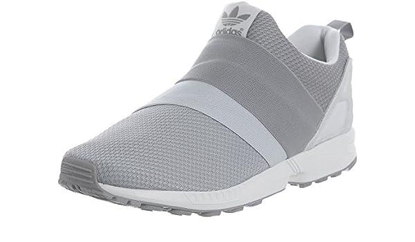 Scarpe Adidas Uomo Originals Zx Flux Slip On Mono Grigie