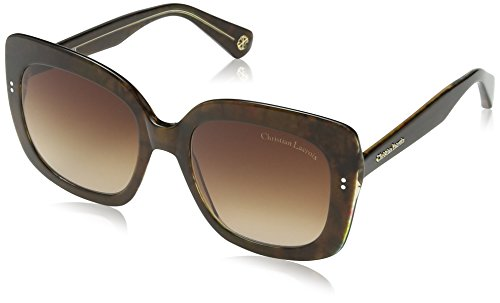 christian-lacroix-womens-cl5050-198-oversized-sunglasses-brown-pattern-brown-lens