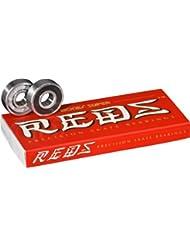 Bones Super Rouge - Juego de 8 rodamientos