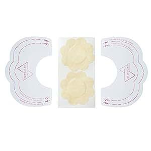 10 Paar Brustwarzenabdeckung / Nipple Covers unsichtbarer Klebe BH- 10 Paar + Brustwarzenabdeckung von Boolavard ® TM