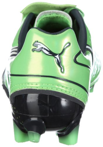 Puma V1-11 IFG, Football homme Green - Grün/fluo green-midnight navy-