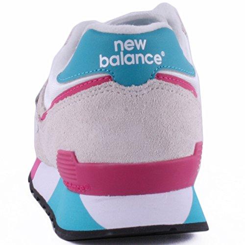 New Balance Donna Nbu446smwb scarpe sportive White Red